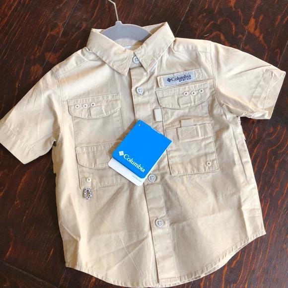 0ff2122a Columbia Shirts & Tops | Nwt Pfg Toddler Boy Fishing Shirt | Poshmark